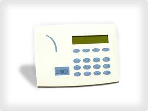 DMP security alarm keypad